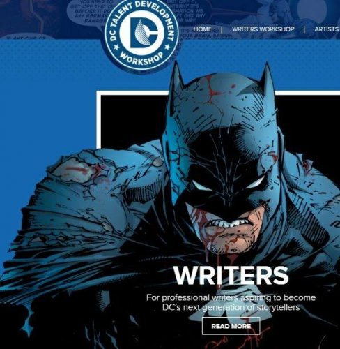 business writing workshops dc universe